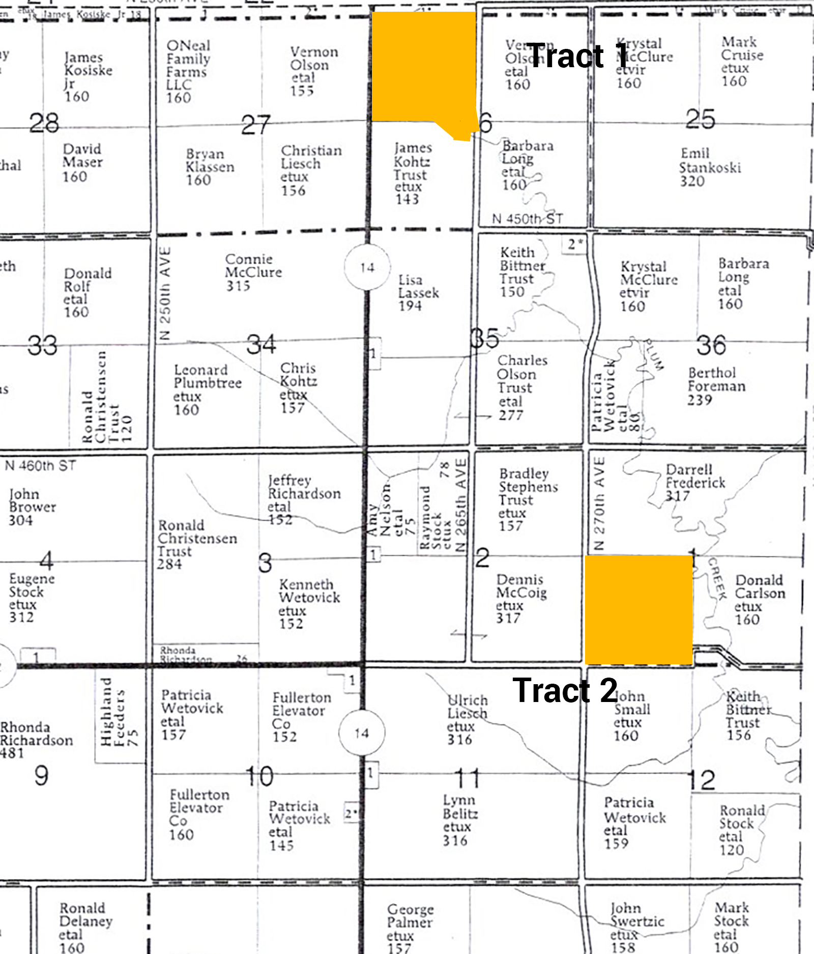Plat Both Tracts