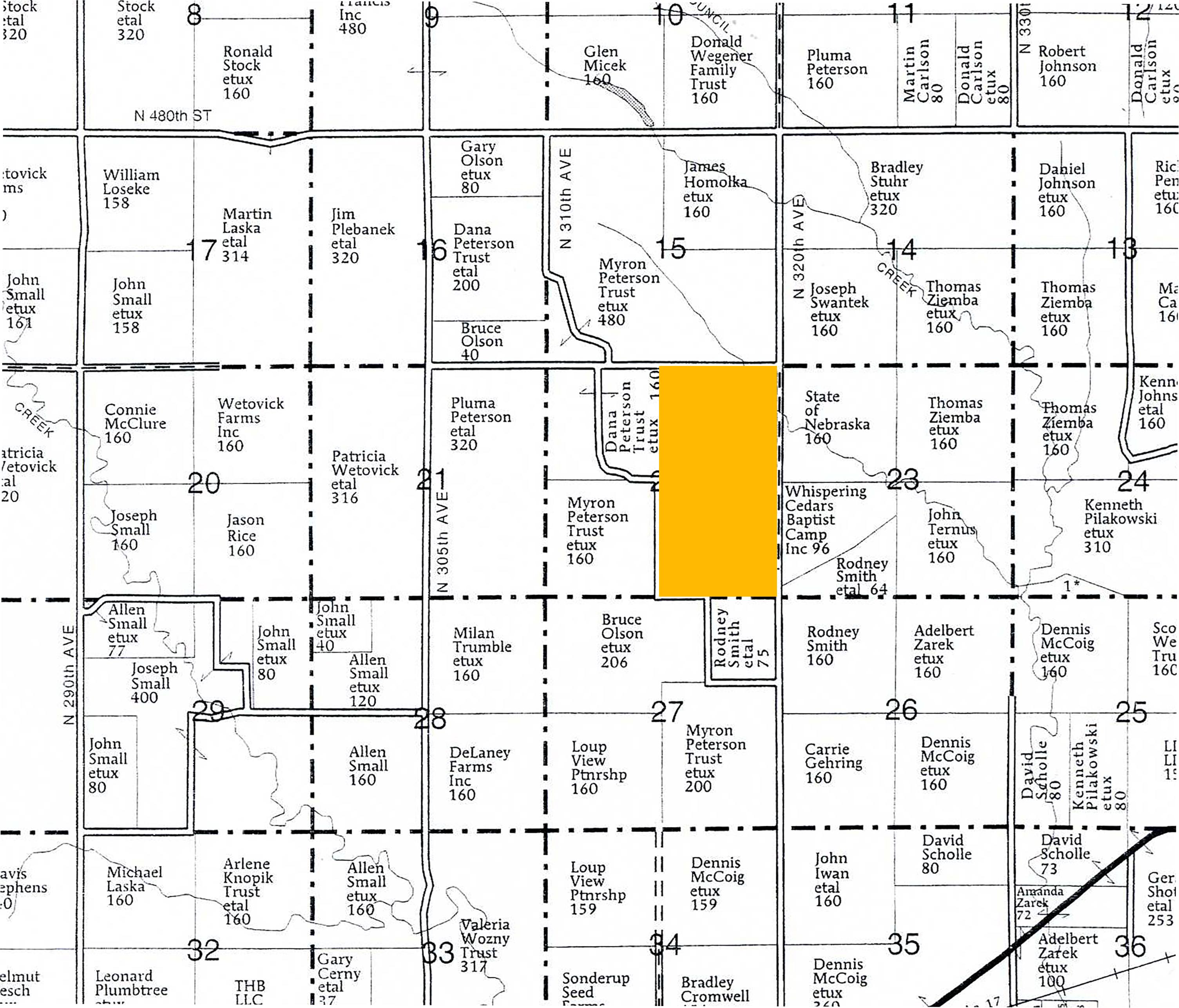 Plat Map LR1004