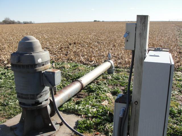 156.9 Acres Pivot irrigated Farm Ground, Northwest of Richland