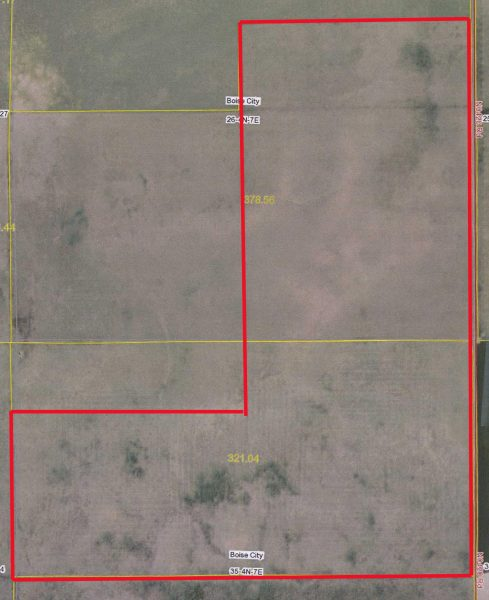 528 Acres CRP Ground, West of Keyes, OK