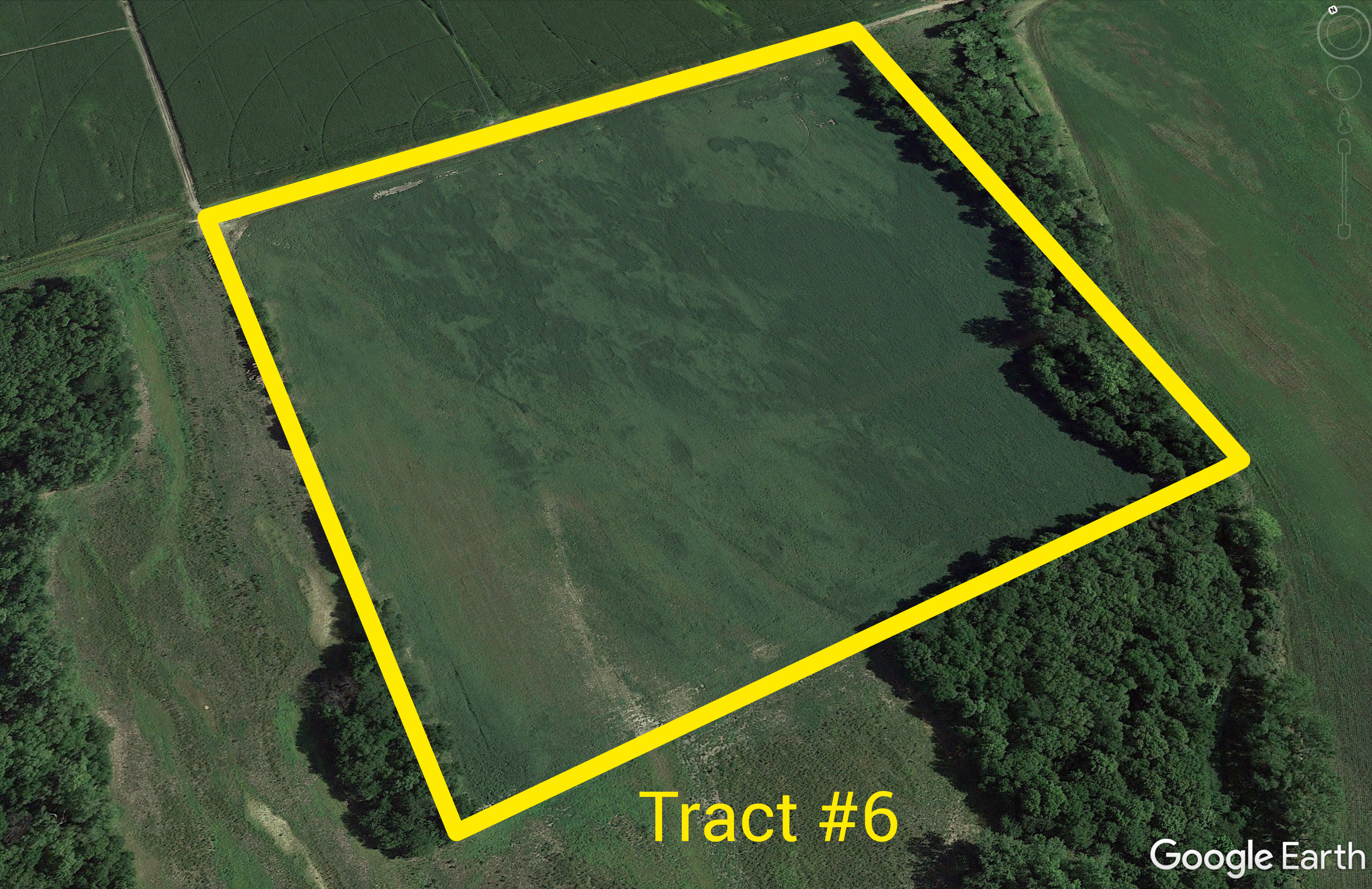 Tract #6 Aerial