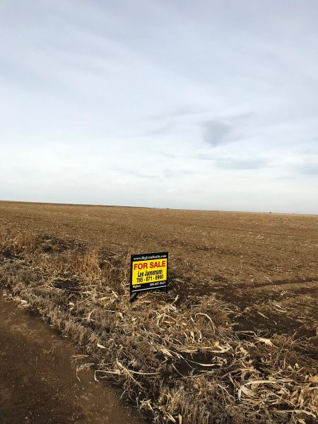 160+/- Acres Norton County, Cropland & Grass, Southwest of Norton, KS