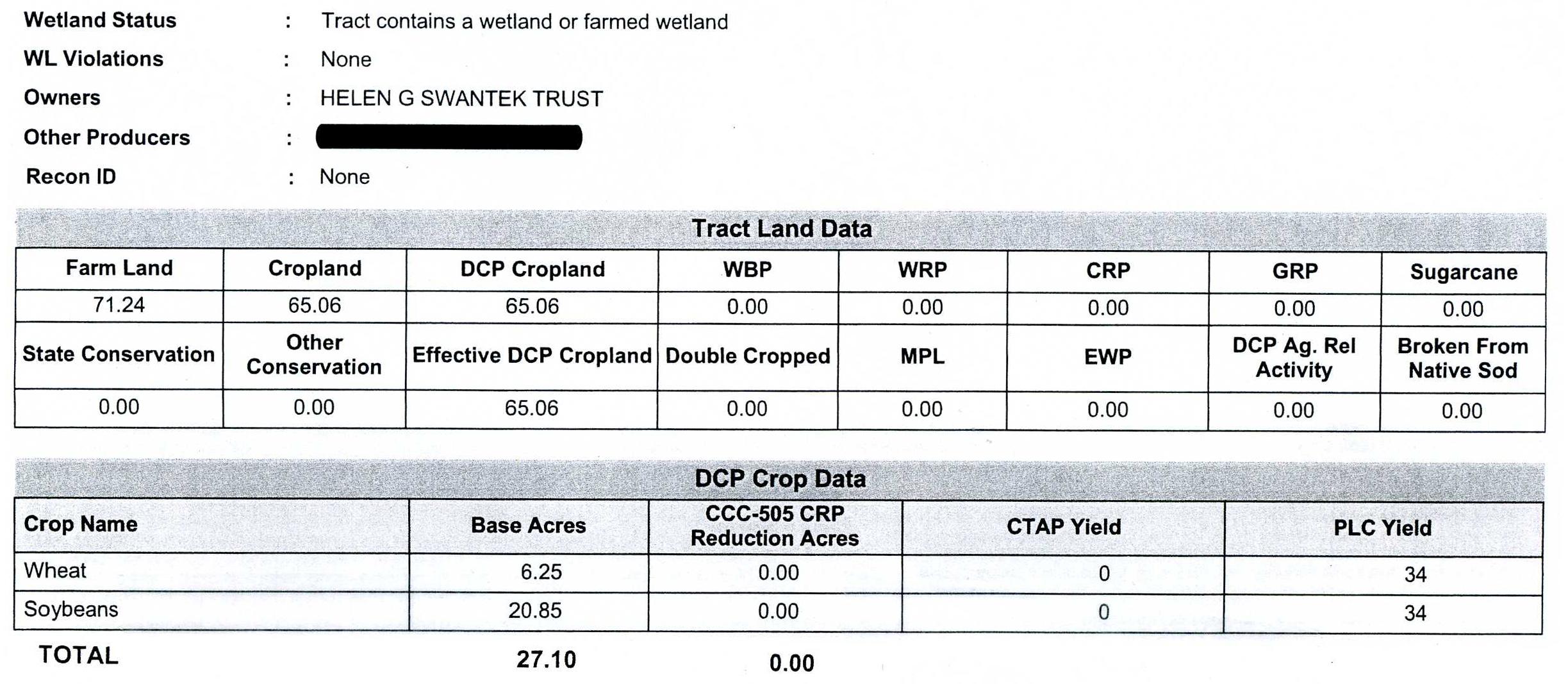 Crop Info 2