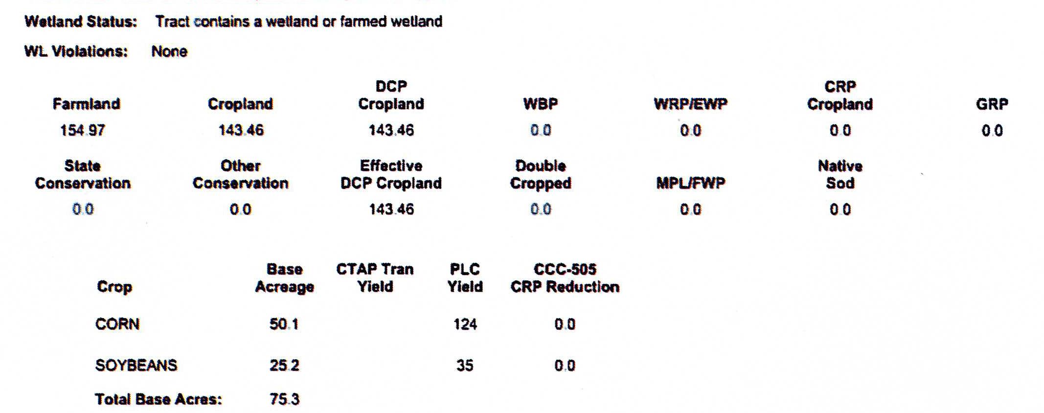 Crop Info M2