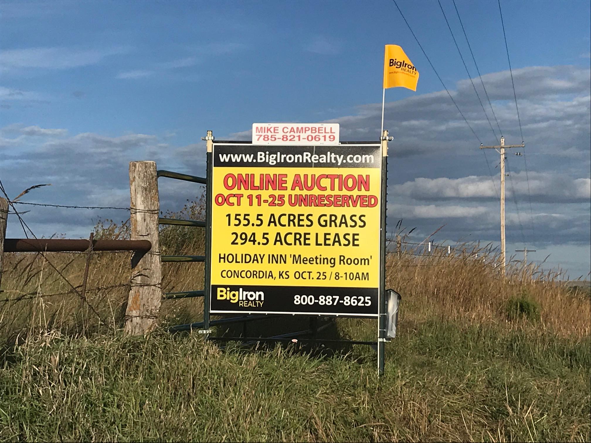 Land Auction 155 57+/- Acres Cloud County, Kansas