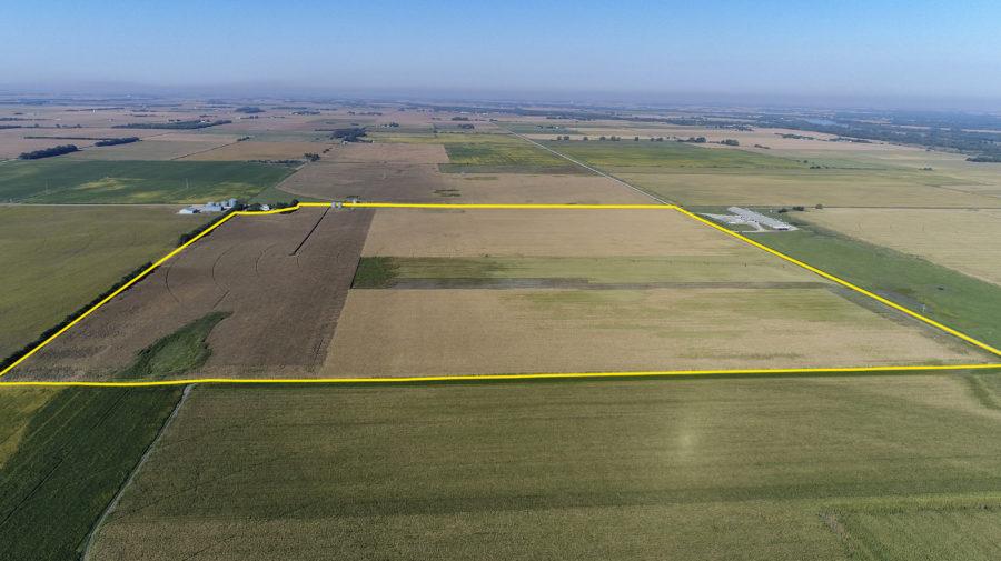 Land Auction 155.93+/- Acres Butler County, Nebraska