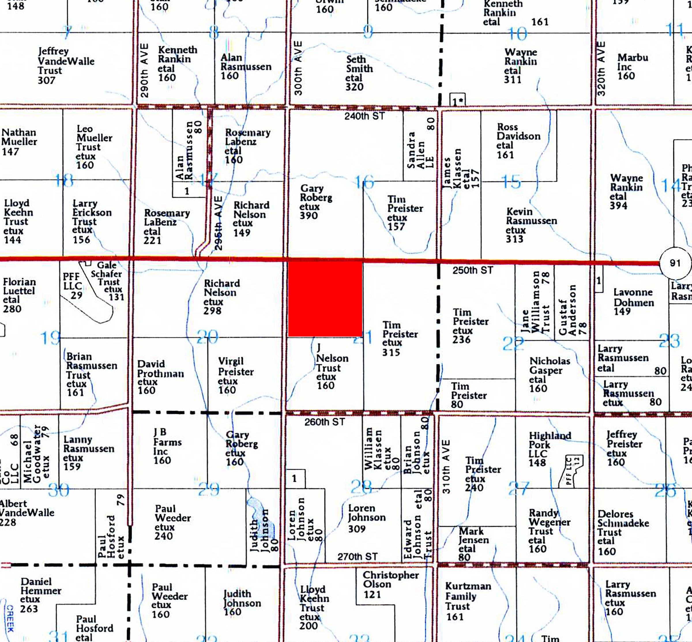 Plat Map B1
