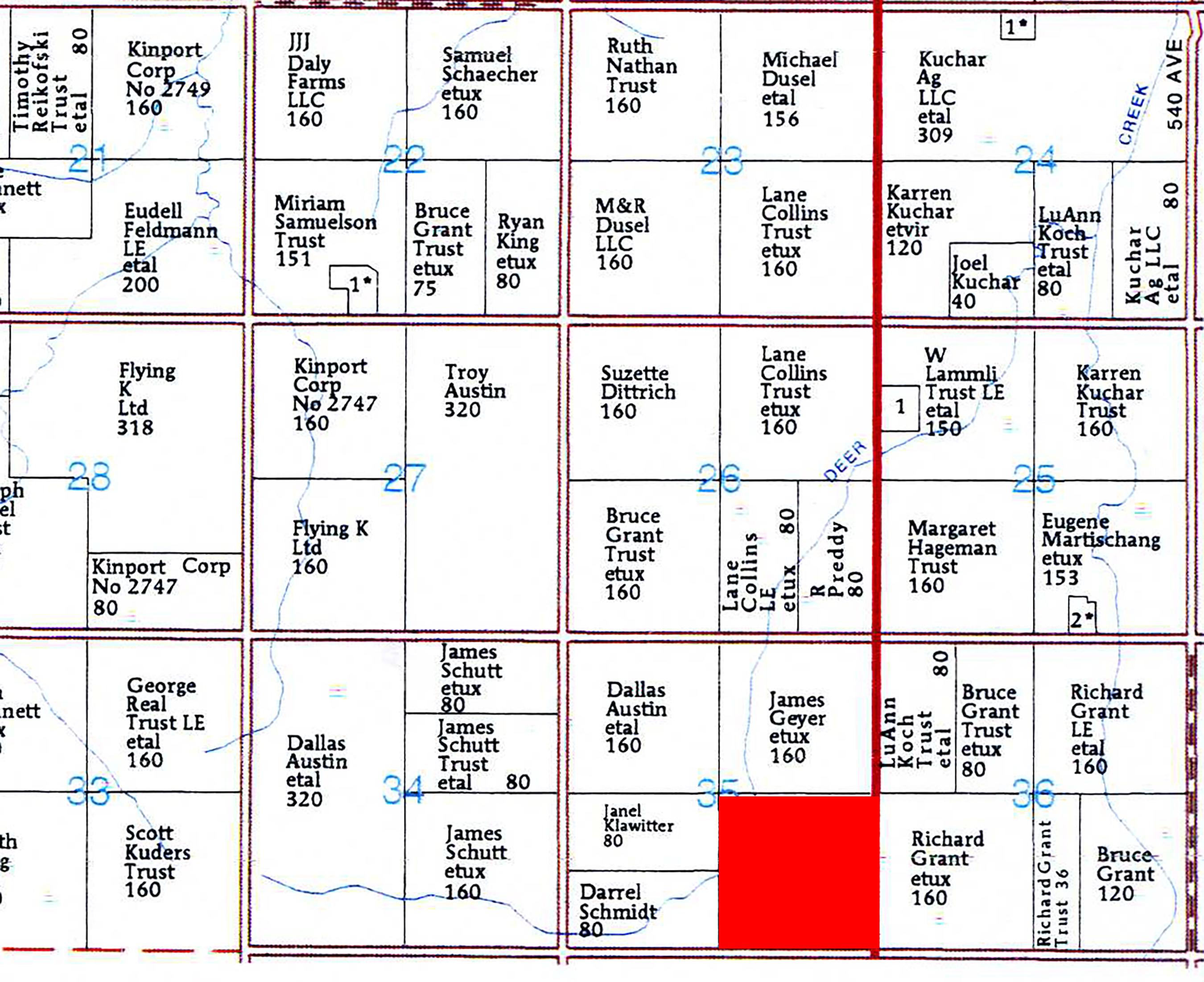 Plat Map M1