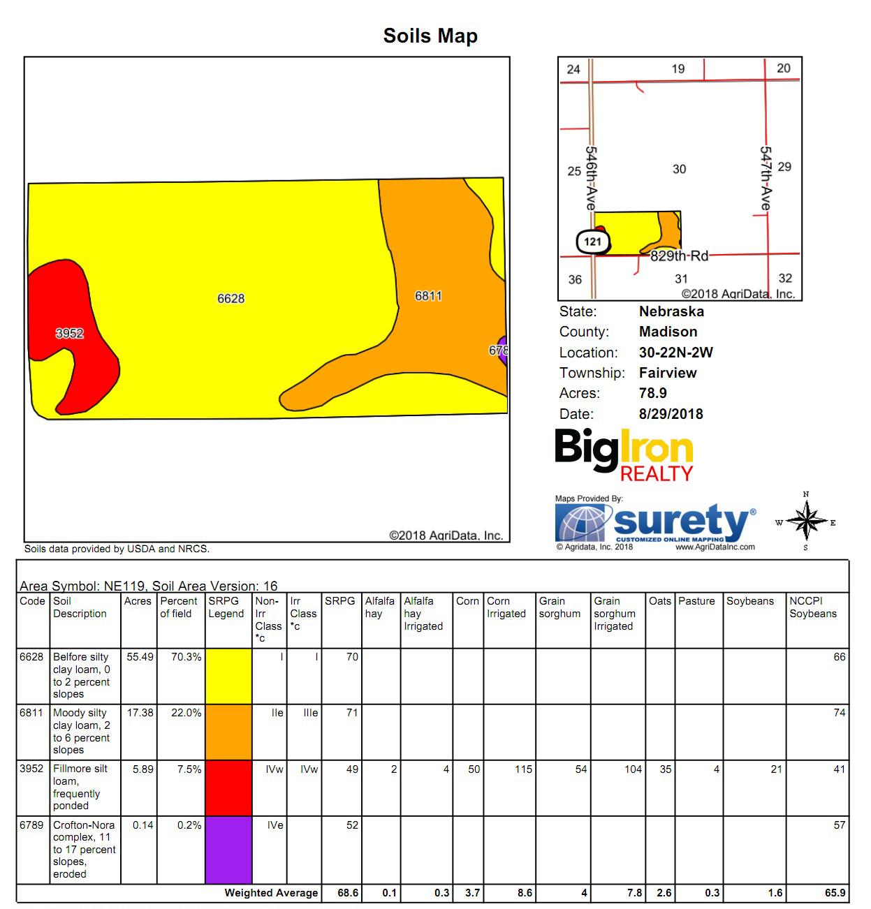 Soil Map M3