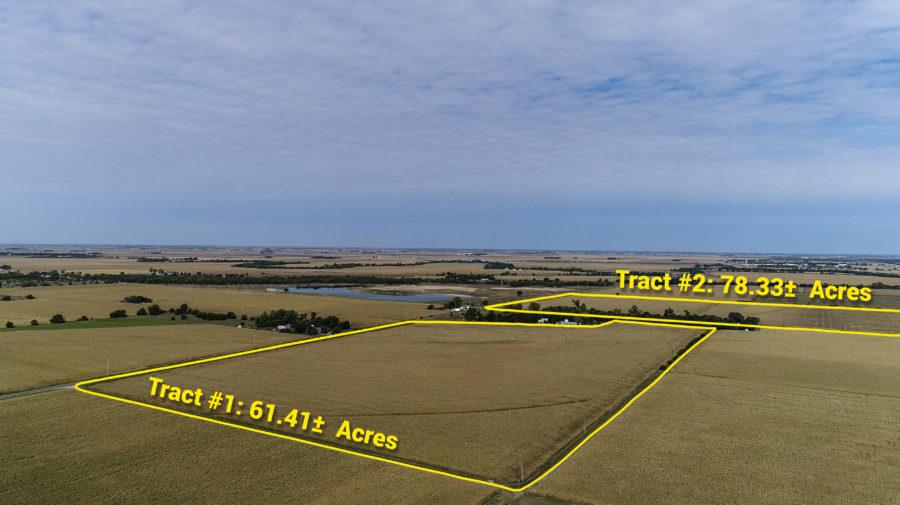 Land Auction 139.74+/- Acres Hall County Nebraska