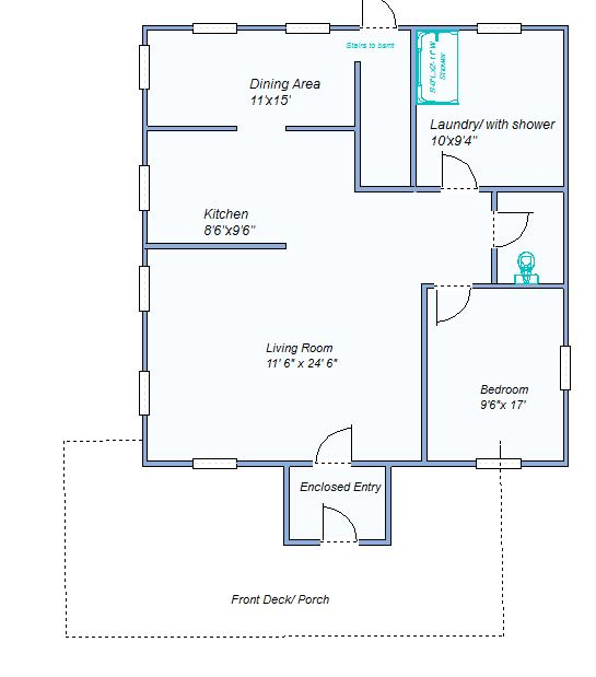 Floor Plan 580 N Range