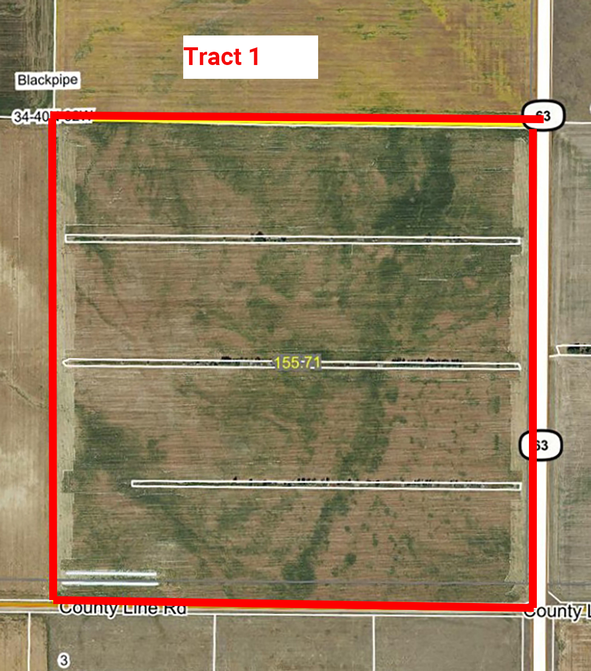 Aerial Map Tract 1