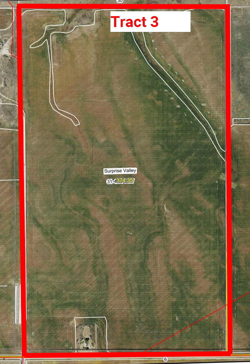 Aerial Map Tract 3