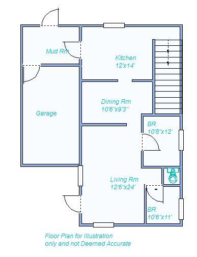 Floor Plan 1260 W 3rd