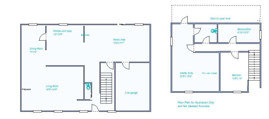 Floor Plan 1818 Harvey Ct