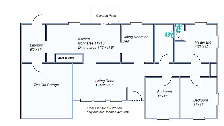 Floor Plan 413 Smith Dr