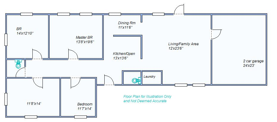Floor Plan 950 E 5th