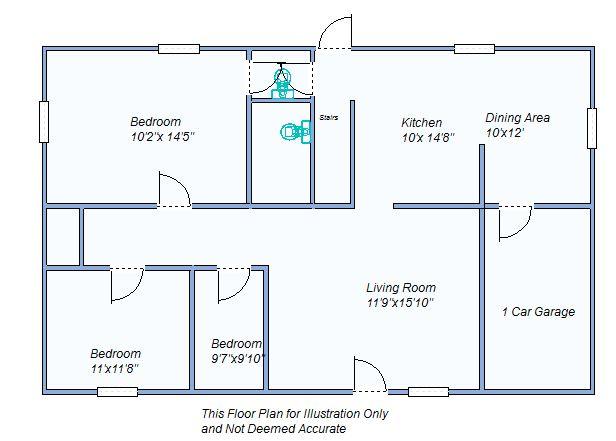 Floor Plan 950 E 6th