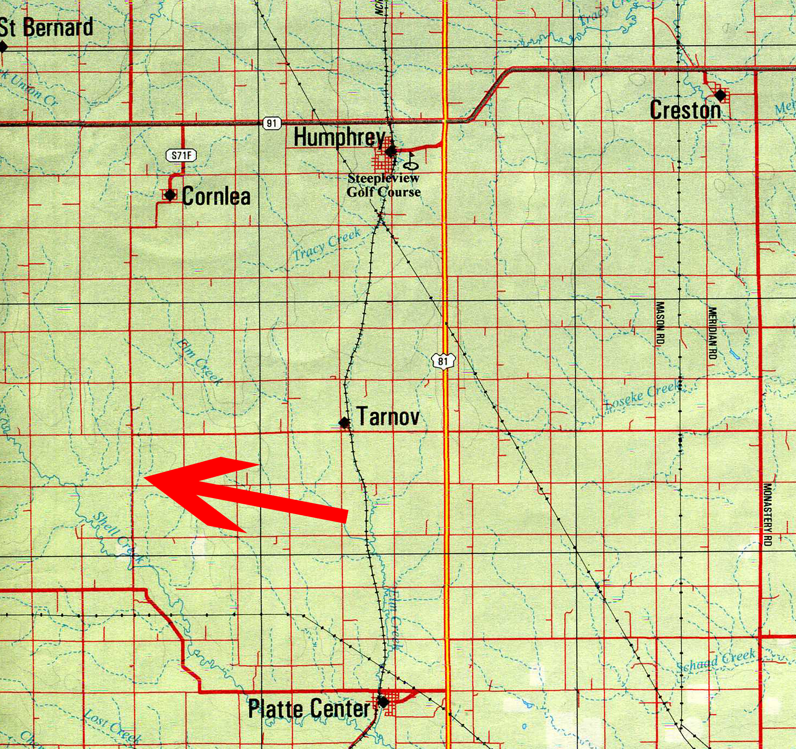 Schmidt Location Map