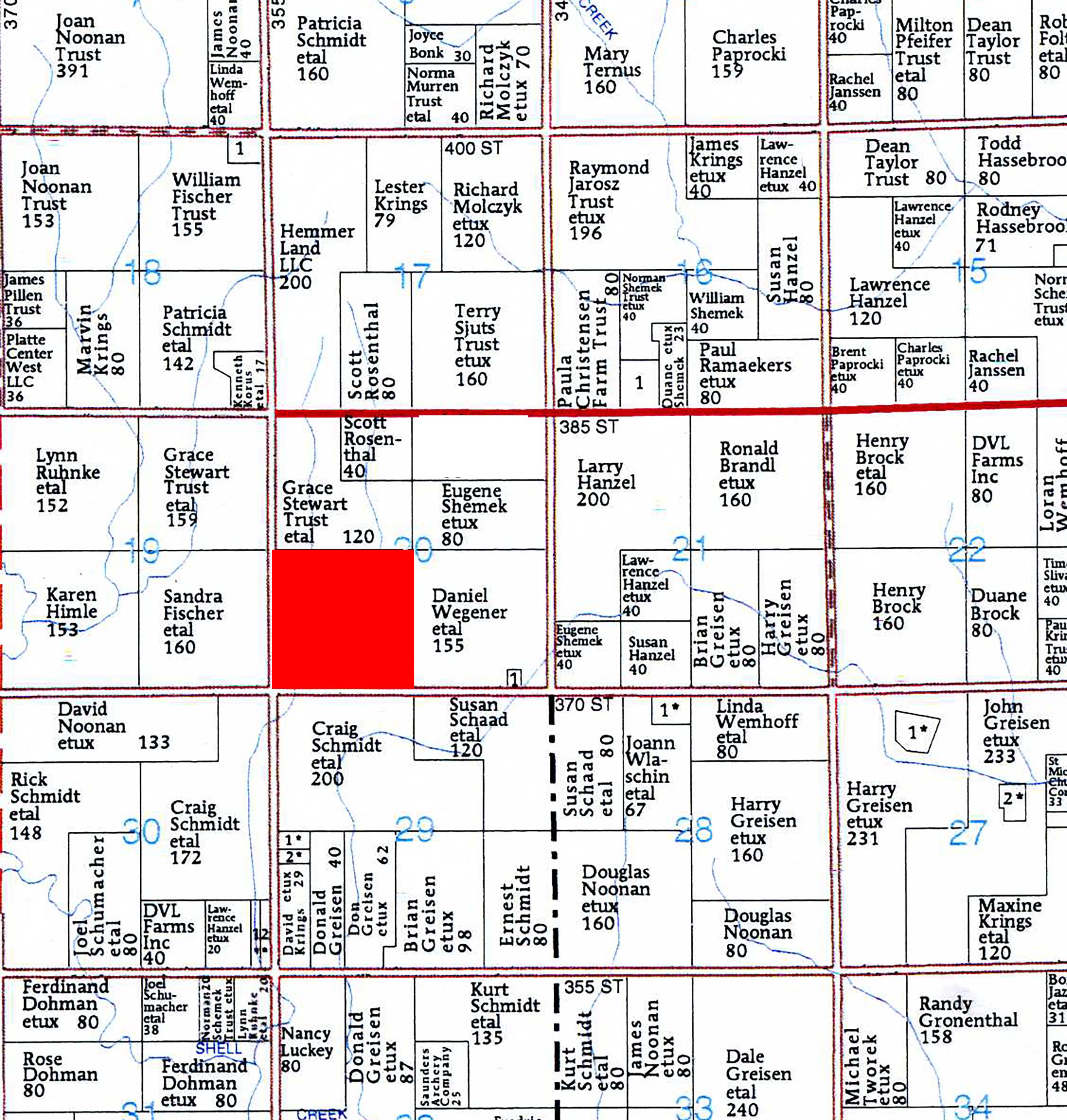 Schmidt Plat Map