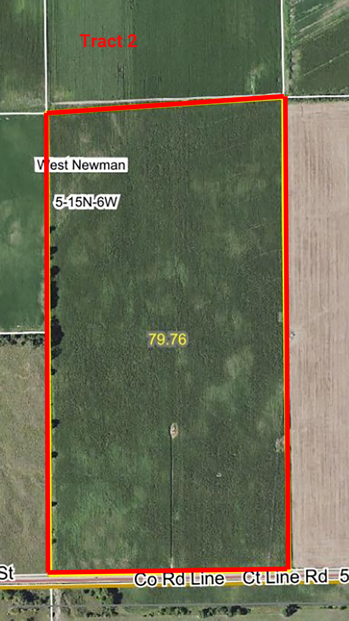 Aerial Map Tract 2_Hawthorne