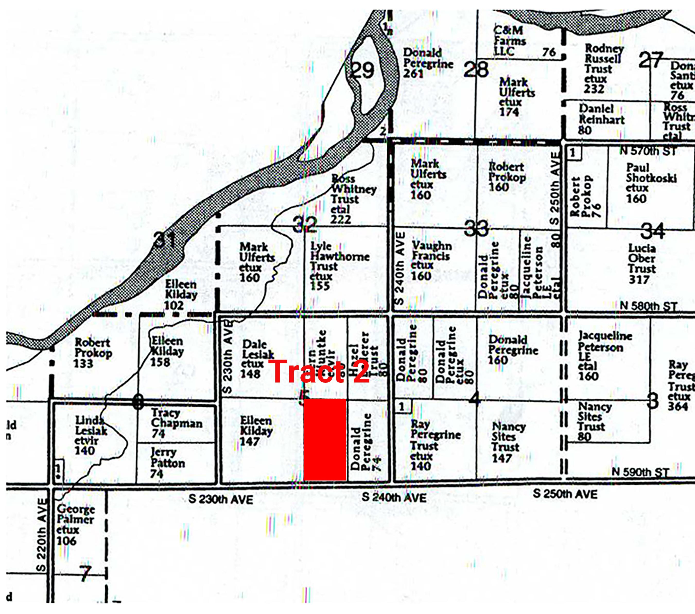 Plat Map Tract 2_Hawthorne