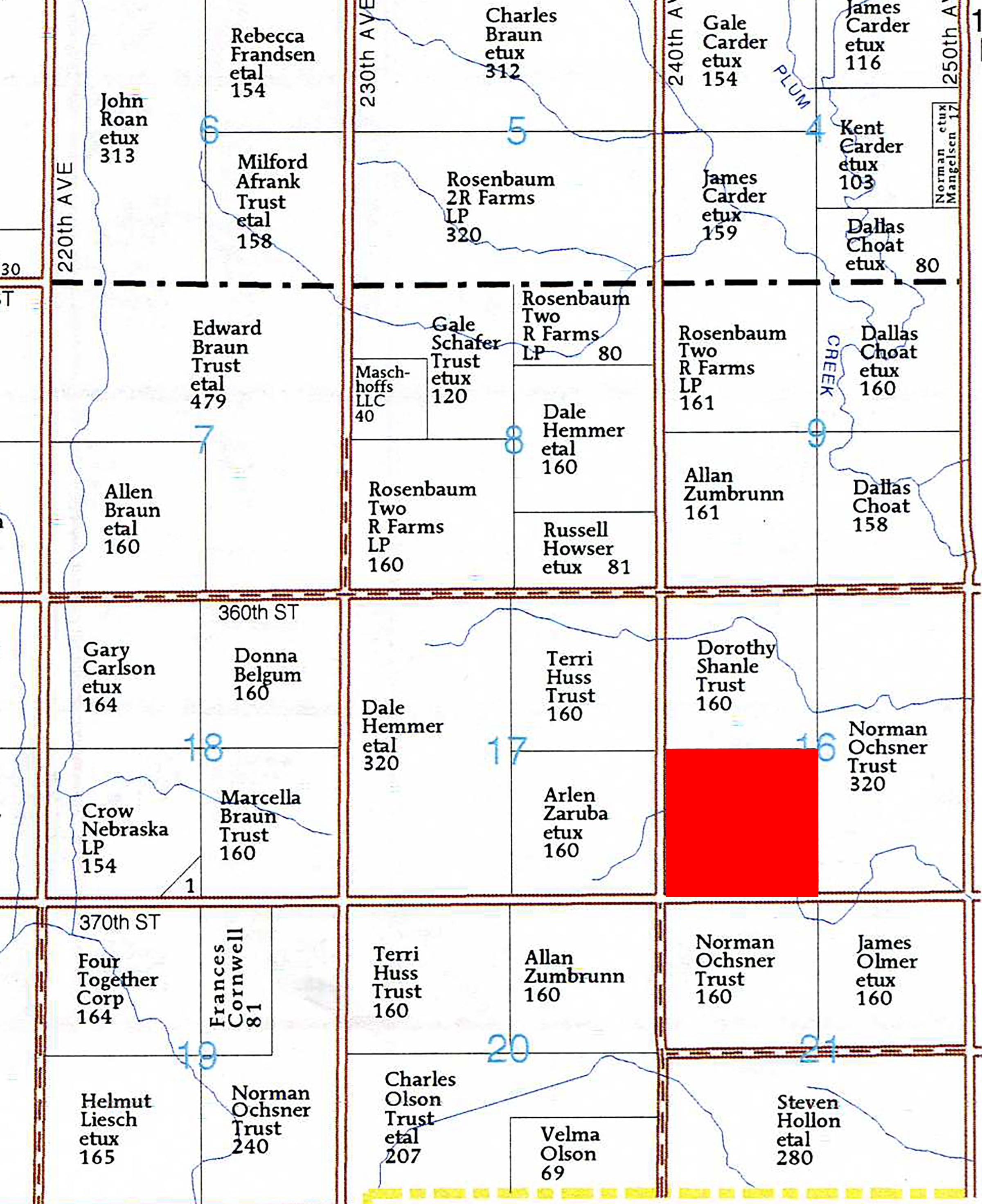 Plat Map_Brengelman