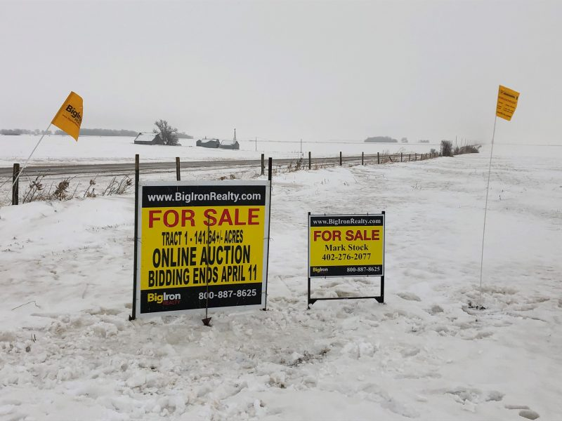Land Auction 301.64+/- Acres Platte & Madison County, Nebraska