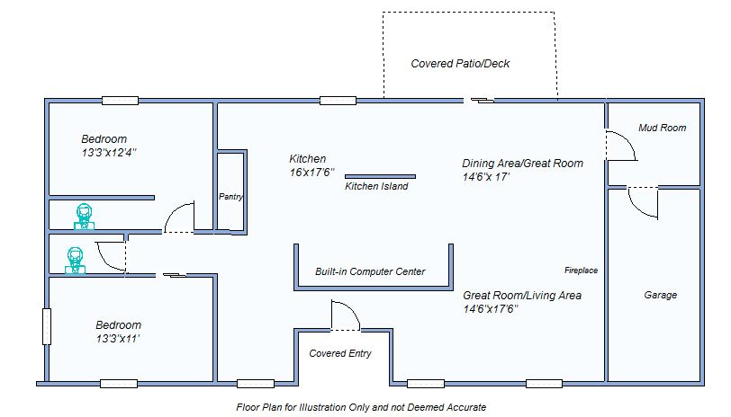 floor plan 414 Smith