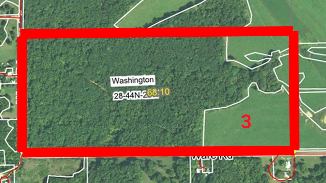 Aerial Map Tract 3BIR-51