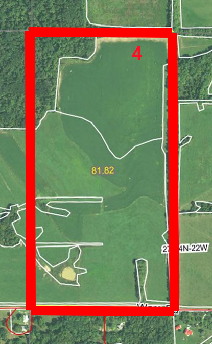 Aerial Map Tract 4BIR51