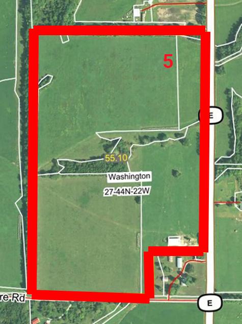 Aerial Map Tract 5BIR51