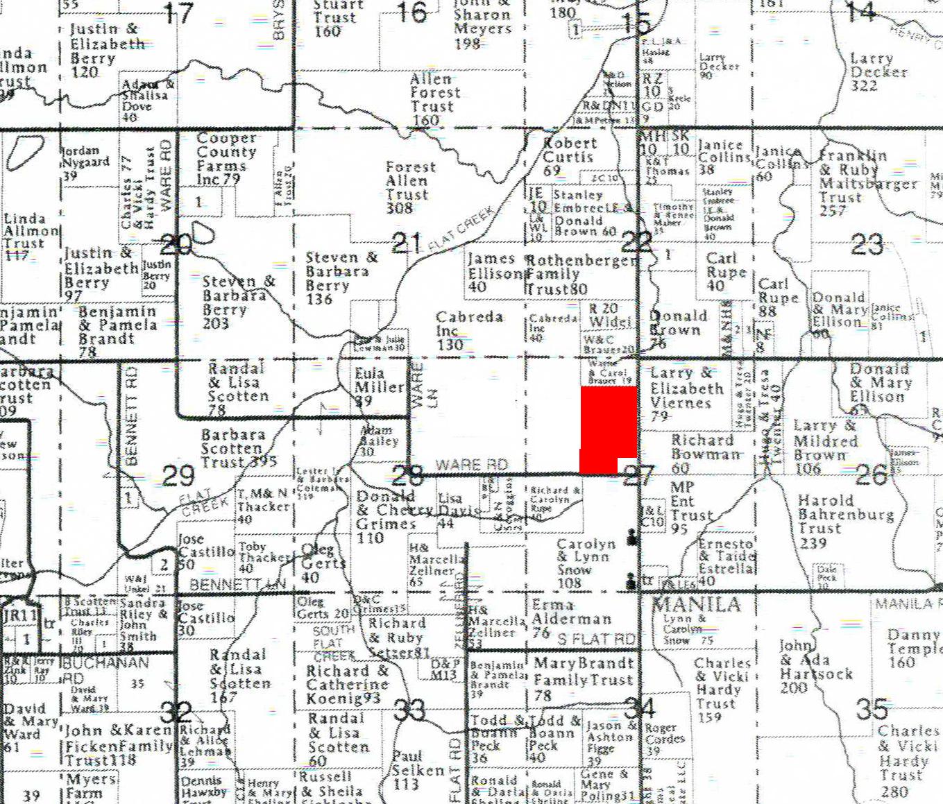 Plat Map Tract 5BIR51