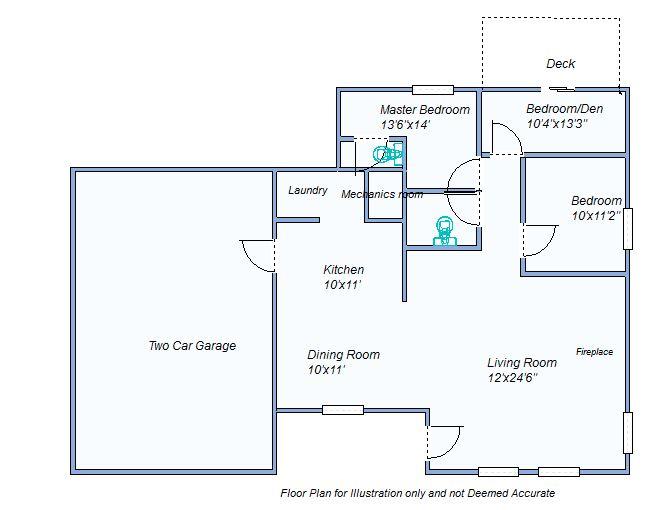 floor plan 585 Austin