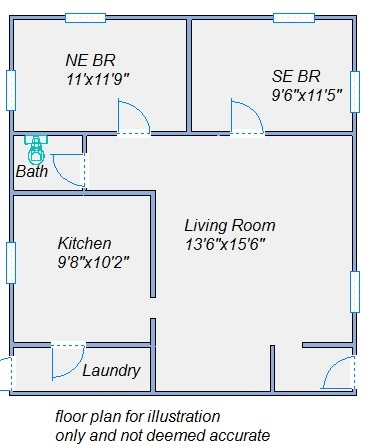 145 S Garfield floor plan