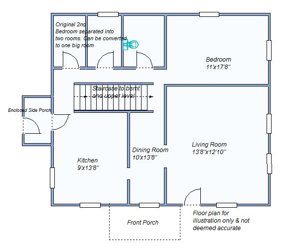 Floor Plan 1230 W 6th