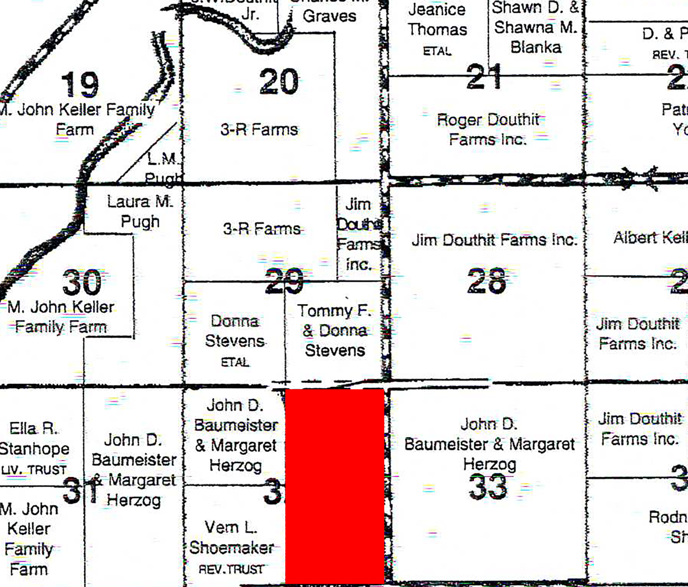 Plat Map BIR58