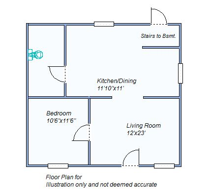 floor plan 165 S Garfield