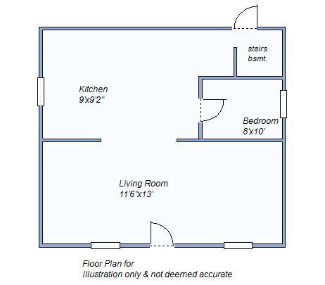 floor plan 495 N Convesse