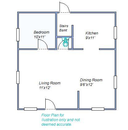 floor plan 665 W 8th