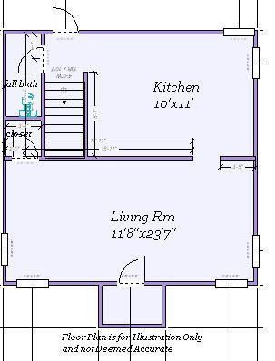 610 S School floor plan