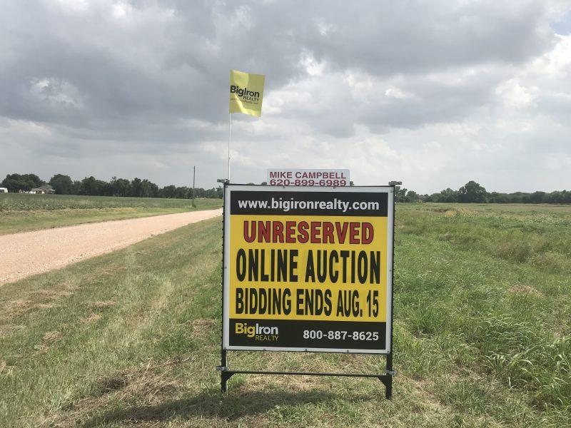 Land Auction 160+/- Acres Sumner County, Kansas