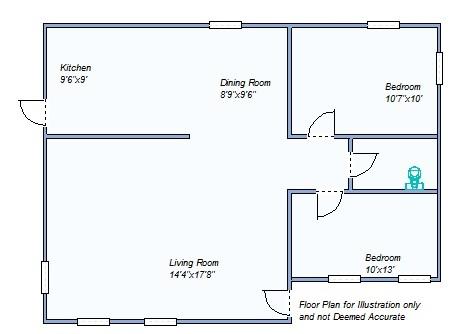 Floor Plan 245 S Grant