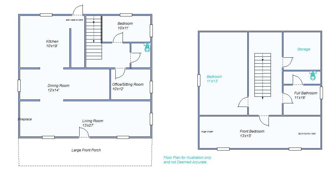 Floor Plan 355 W 5th