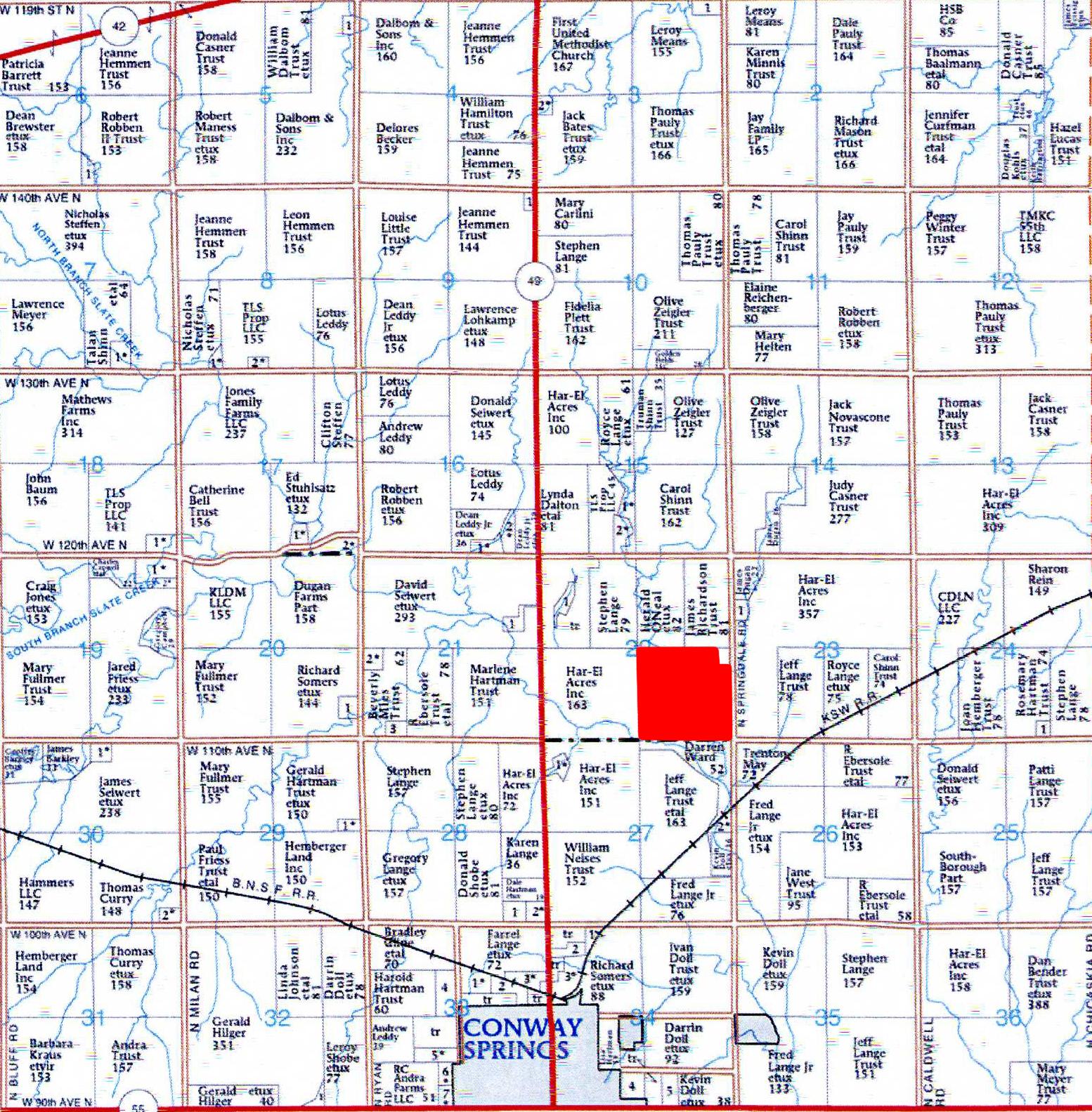 Plat Map BIR57