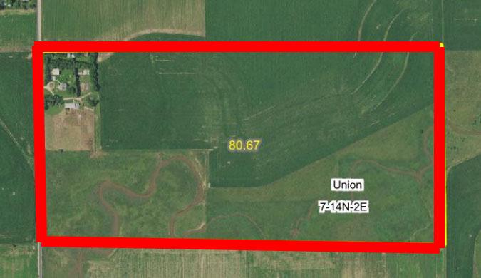 Aerial Map 5-BIR62