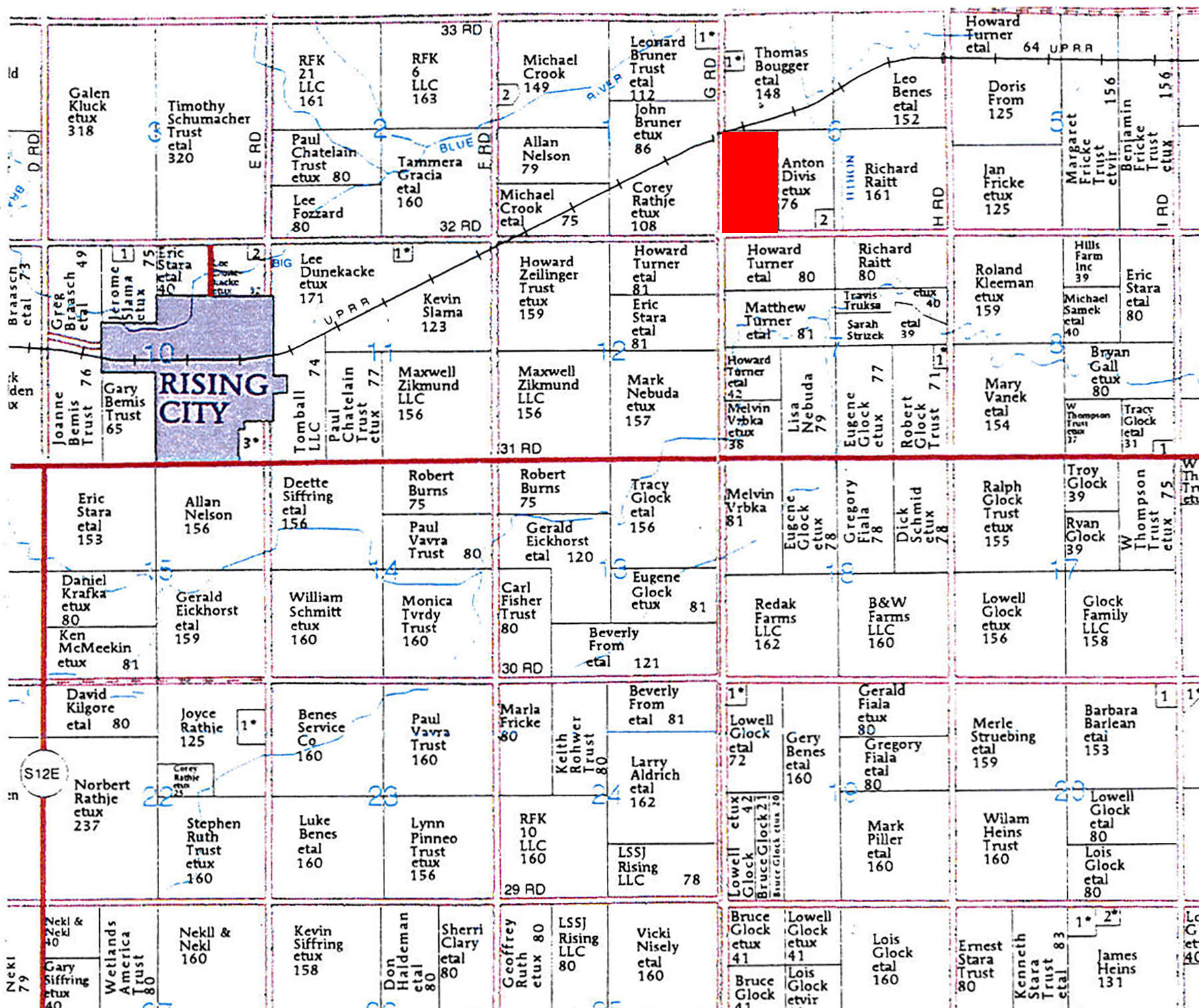 Plat Map 2-BIR62