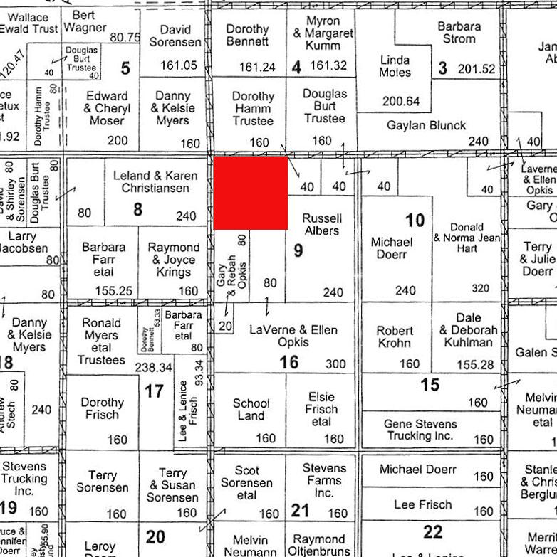 Plat Map BIR-1022