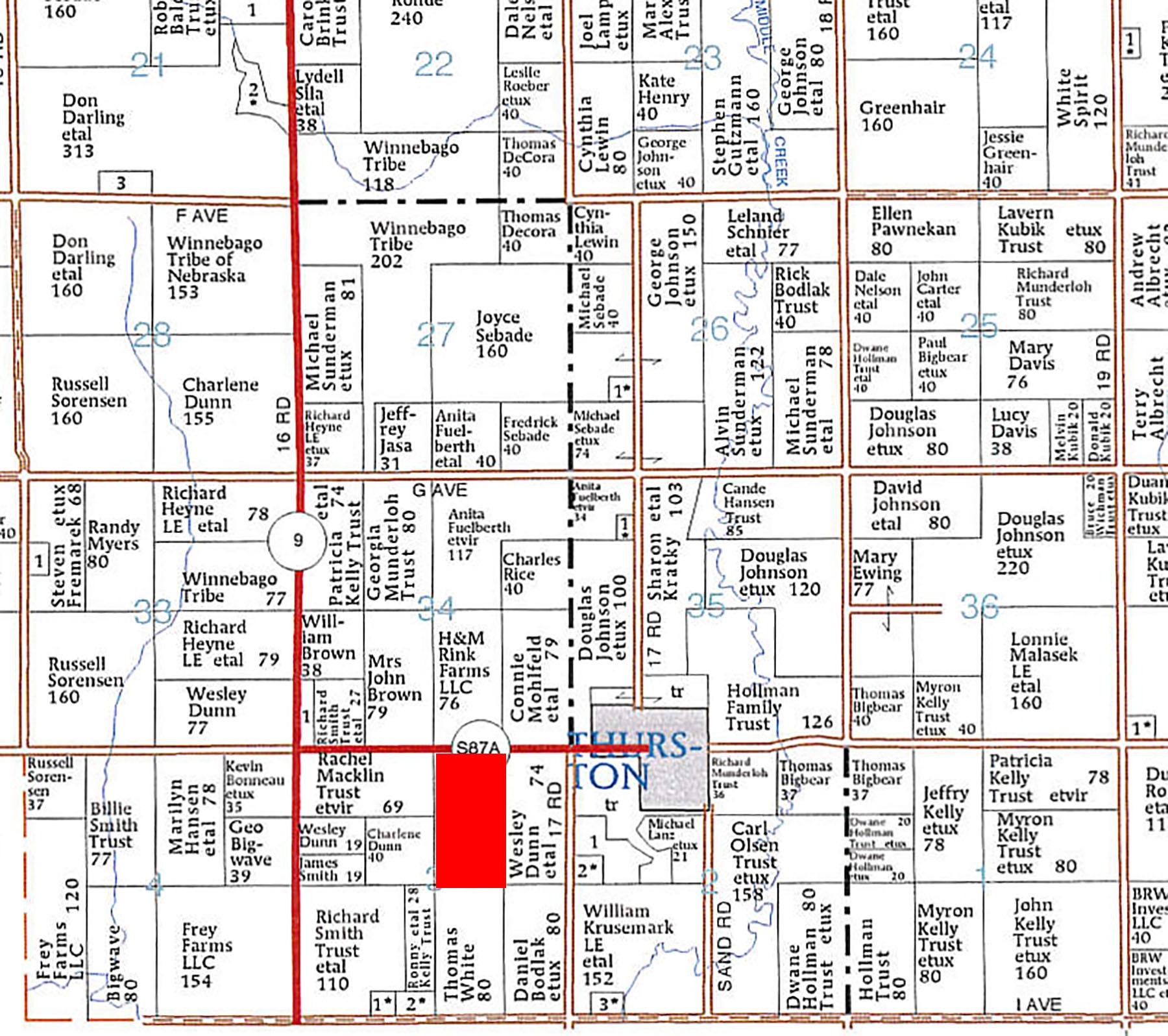 Plat Map BIR1014