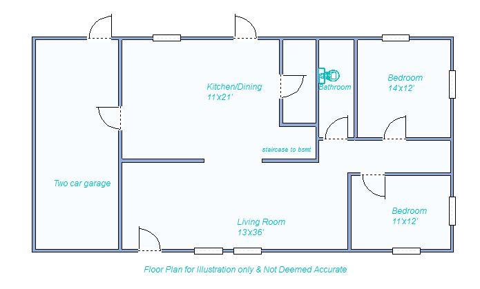 580 W Cherry floor plan